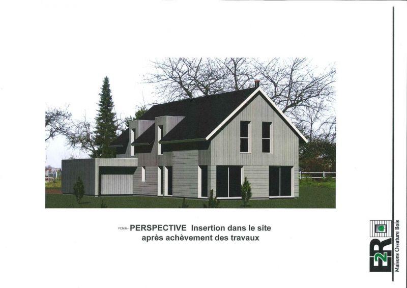Maison ossature bois 140 m proche de vernon 27 for Agrandir sa maison en ossature bois