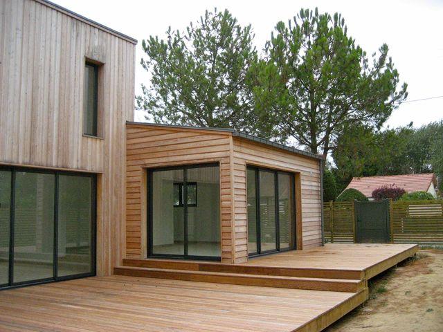 E2r maisons bois votre constructeur de maisons bois en normandie normand - Agrandir sa maison en bois ...
