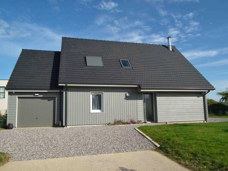 Maison Ossature Bois 110 m² proche de ROUEN, 76. - Normandie - E2R ...