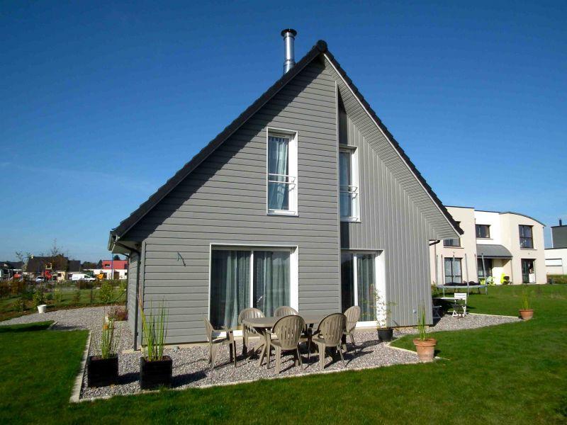 Maison ossature bois 110 m proche de rouen 76 for Maison ossature bois normandie