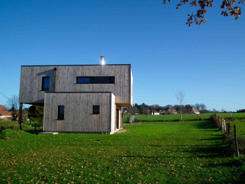 Maison rt2012 ossature bois 101 m proche de rouen 76 for Prix maison 100m2 rt 2012