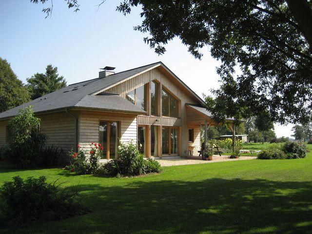 Comment financer un projet immobilier en ossature bois en for Maison ossature bois normandie