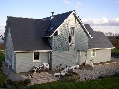 Maison Ossature Bois 118 m u00b2à HONFLEUR, 14 Normandie E2R Maisons Bois # Maison Ossature Bois Normandie