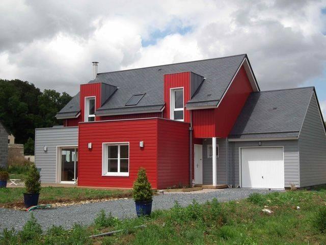 Maison bbc ossature bois 132 m proche de caen 14 normandie e2r maisons - Ma maison contemporaine ...