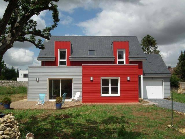 construire sa maison bois maison maison bois 3 chambres plus suite parentale maisons stphane. Black Bedroom Furniture Sets. Home Design Ideas