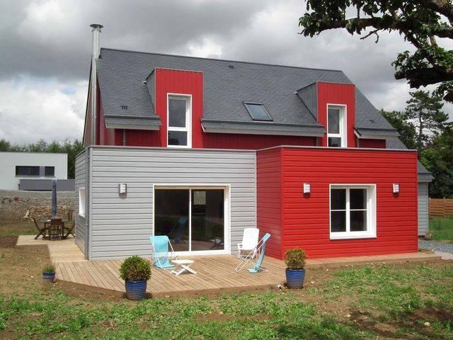 Maison bbc ossature bois 132 m proche de caen 14 - Obligation rt 2012 maison individuelle ...