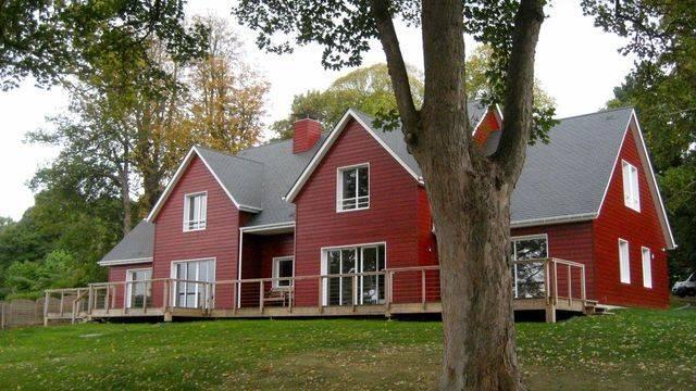 maison en bois normandie