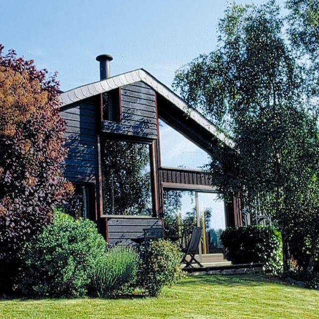 Photos de maisons ossature bois en seine maritime proche for Maison ossature bois normandie