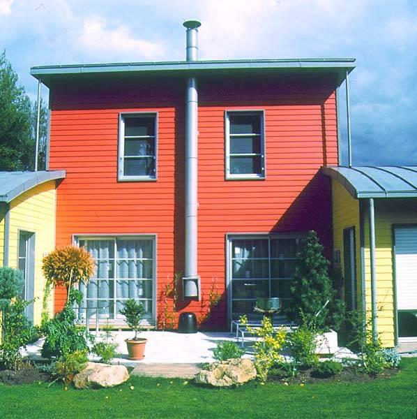Photos de maisons ossature bois en seine maritime proche for Maison de l agglomeration montpellier