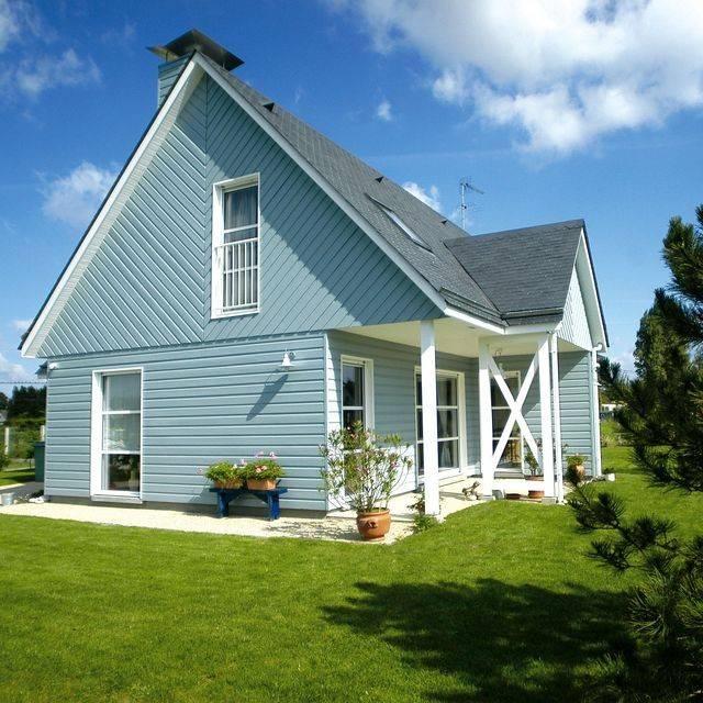 Photos de maisons ossature bois dans l 39 eure 27 for Maison ossature bois normandie