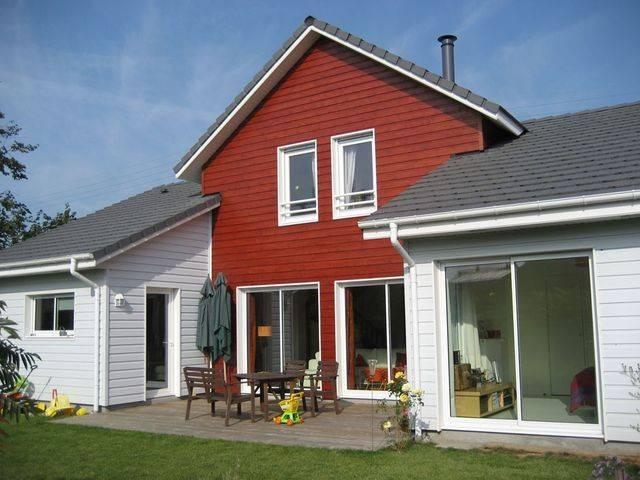 Maison ossature bois 134 m proche de rouen 76 for Agrandir sa maison en ossature bois