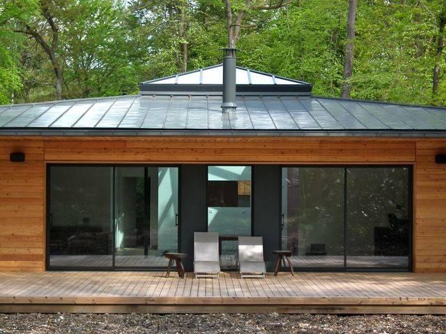maison bbc ossature bois 138 m proche de pont l 39 eveque. Black Bedroom Furniture Sets. Home Design Ideas