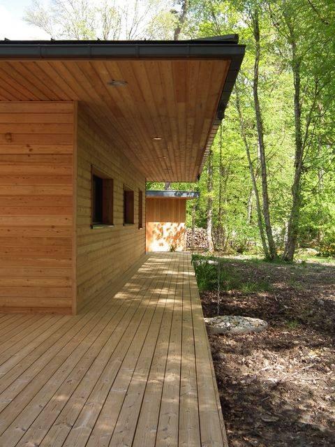 Réaliser Une Maison à Ossature Bois En Basse Normandie, à Cabourg, 14.