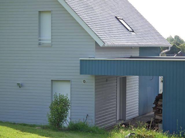 Maison BBC Ossature Bois 110 m u00b2 proche de ROUEN, 76 Normandie E2R Maisons Bois # Maison Ossature Bois Normandie