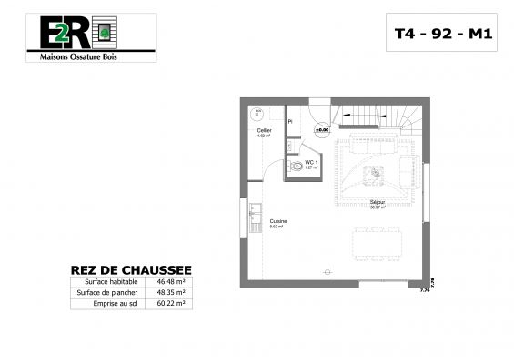 Construire une maison RT 2012 contemporaine en Normandie.