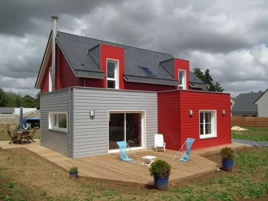 Réalisations de maisons en bois à Rouen 76 - E2R Maisons Bois
